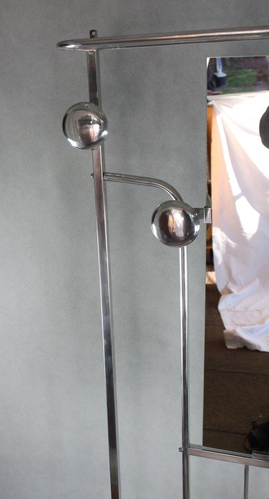 art deco standgarderobe garderobe mit spiegelablage. Black Bedroom Furniture Sets. Home Design Ideas