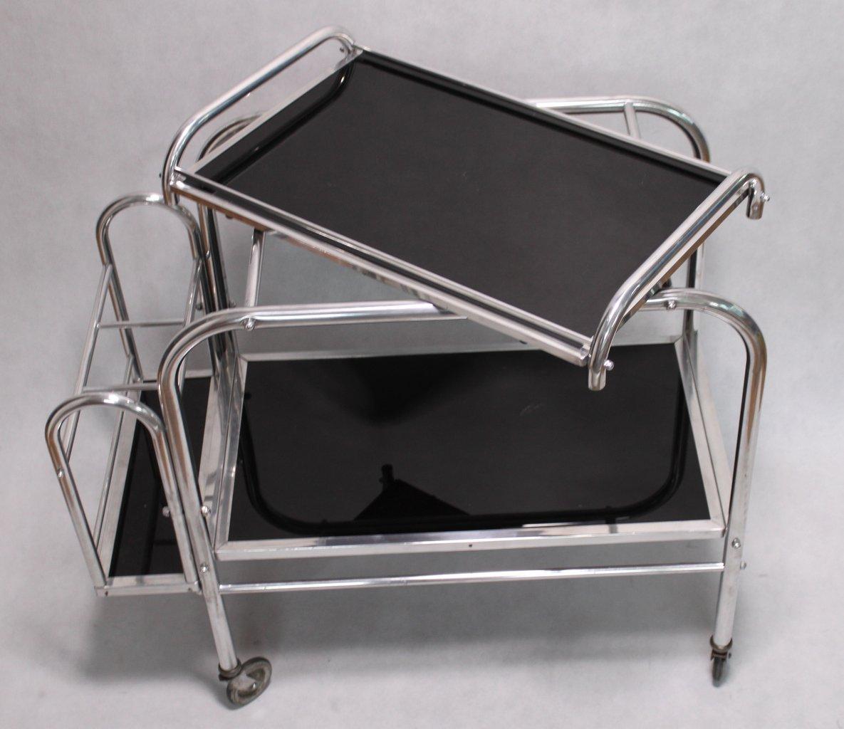 Art Deco Servierwagen Teewagen Barwagen Mit Tablett