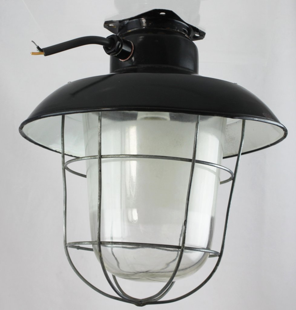 Deckenlampe Industriedesign