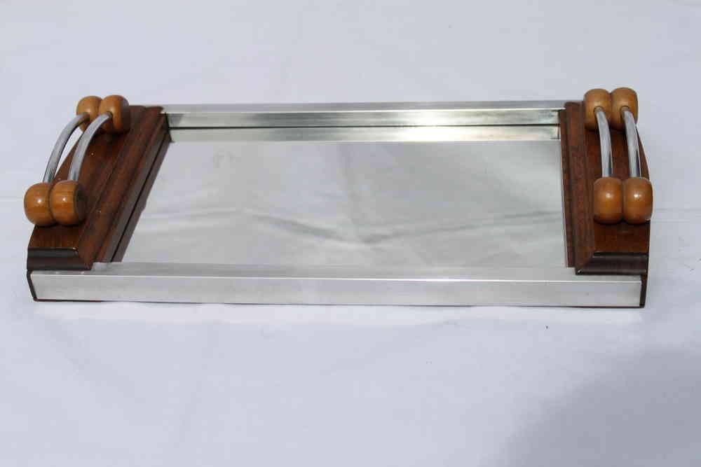 Art Deco Spiegel : Elegantes art deco spiegel tablett art design classics
