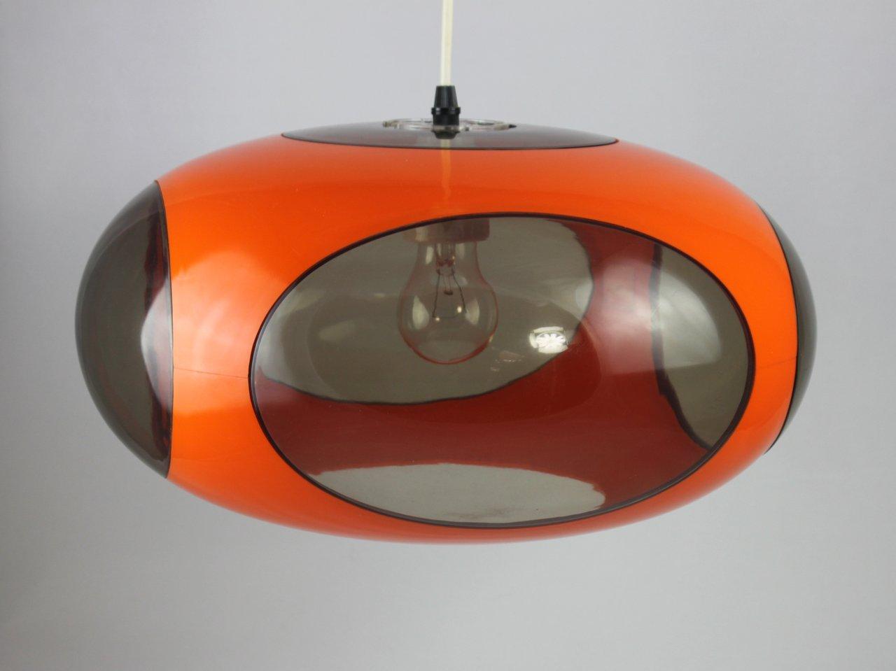 Original 70er Jahre Ufo Lampe - LUIGI COLANI - orange