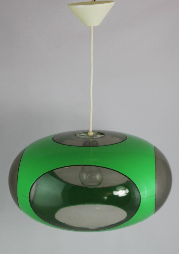 Original 70er Jahre Ufo Lampe - LUIGI COLANI - grün - Vintage