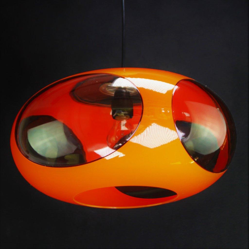 Alte original 70er Jahre - Ufo Lampe - LUIGI COLANI - weiß